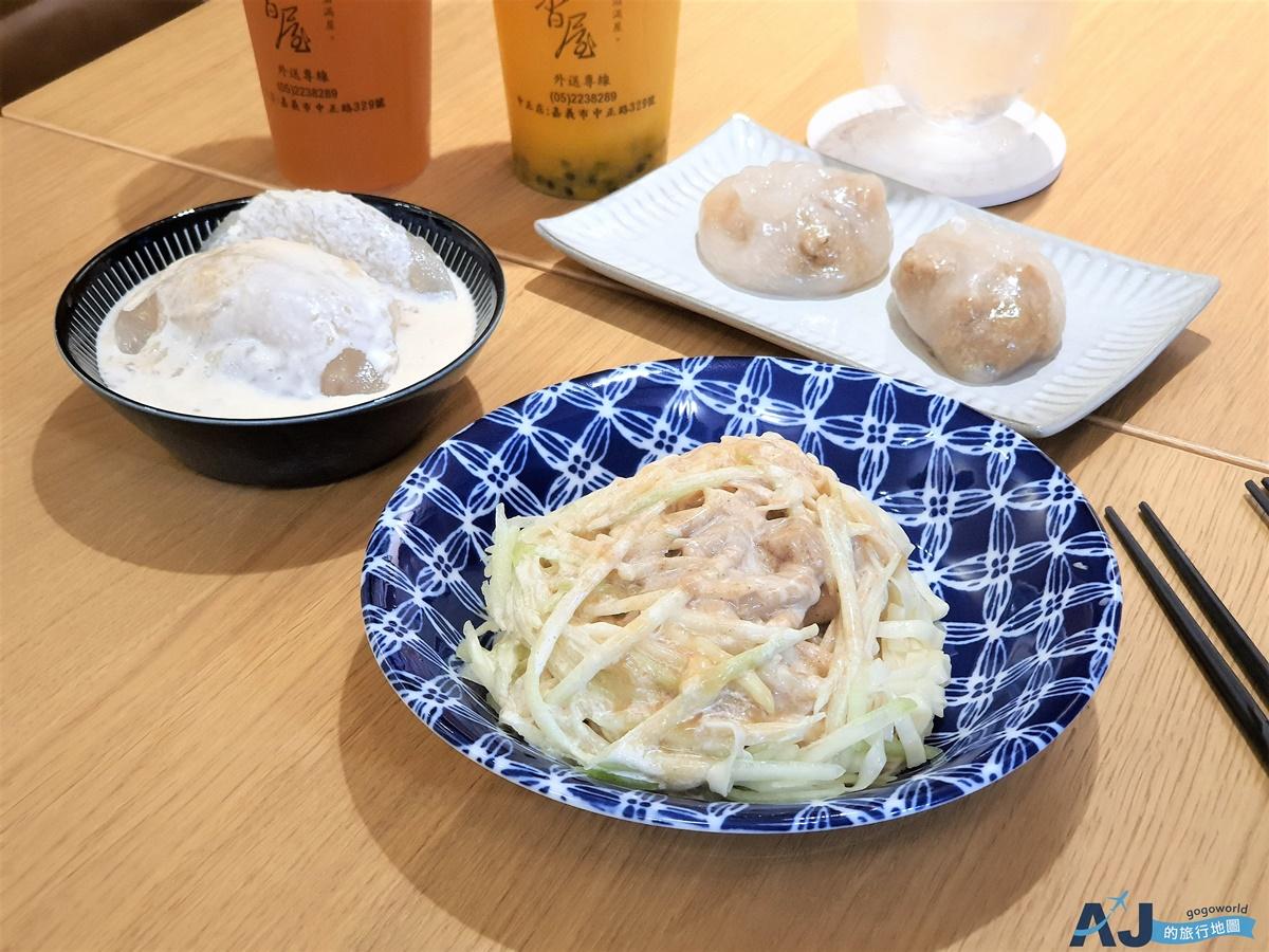 嘉義美食:黃記涼麵涼圓 超好吃的美乃滋涼麵、蒜味涼圓