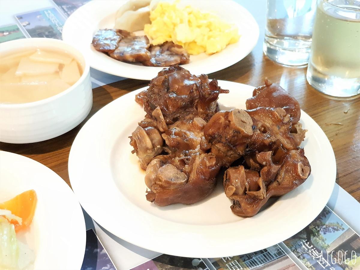台糖台北會館 飯店早餐 甜心餐廳有御品醬滷豬腳吃到飽