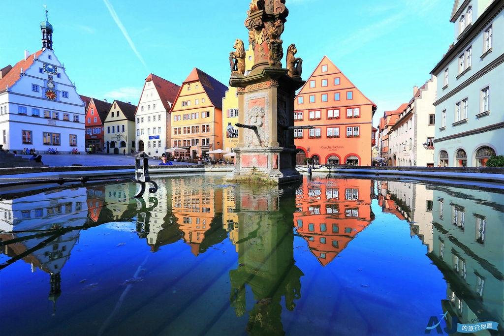 德國羅騰堡Rothenburg:保存完好的中古世紀小城 浪漫之路與古堡之路的交會點 景點、住宿、美食分享