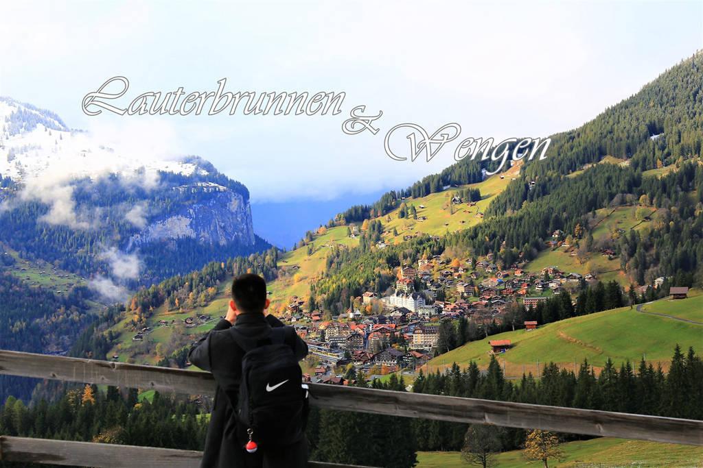 少女峰周邊景點:盧達本納 Lauterbrunnen 瀑布鎮 與 溫根 Wengen 溫馨小山城半日遊、交通分享