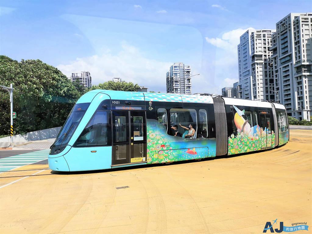 淡水新市鎮交通:淡海輕軌 綠山線、藍海線 行車時間、票價、轉乘方式分享