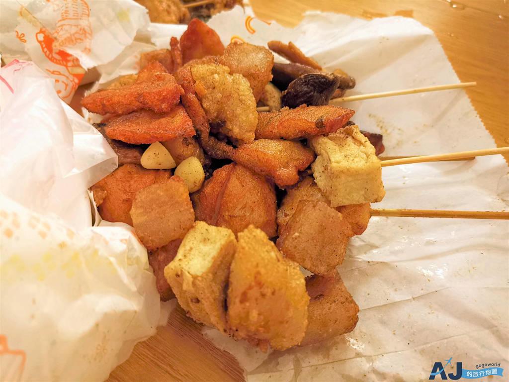(澎湖馬公消夜)阿華鹹酥雞、狀元香滷味 馬公人氣鹹酥雞攤 消夜好朋友