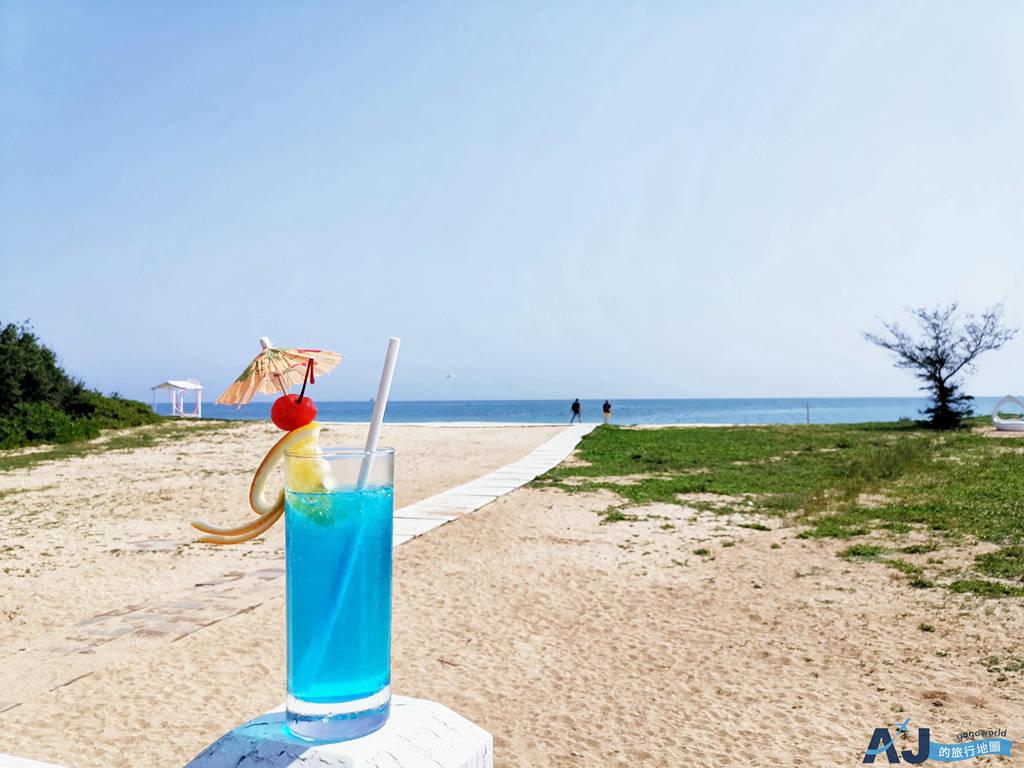 (澎湖海景餐廳)白灣景觀餐廳 林投金沙灘、貝殼教堂旁的咖啡館 菜單、營業時間分享