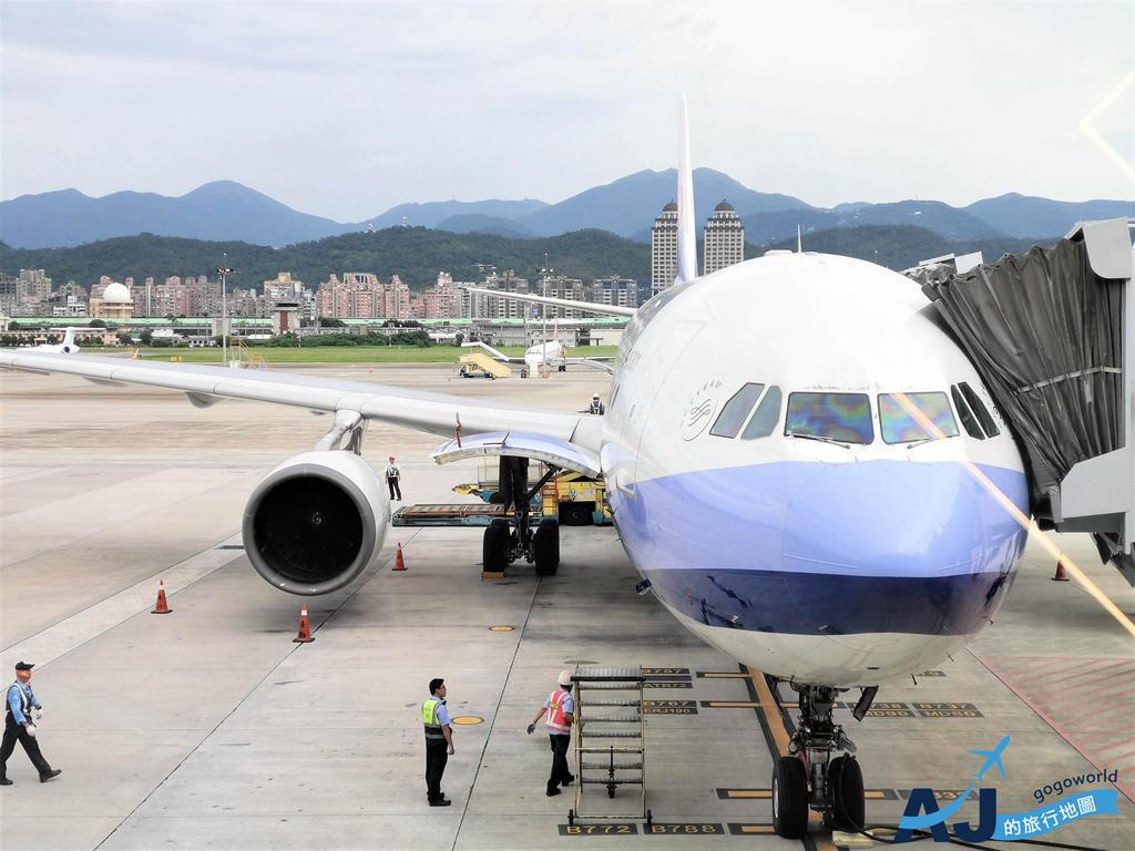 華航 CI220 / CI221 台北松山TSA <> 東京羽田HND A330經濟艙飛機餐分享