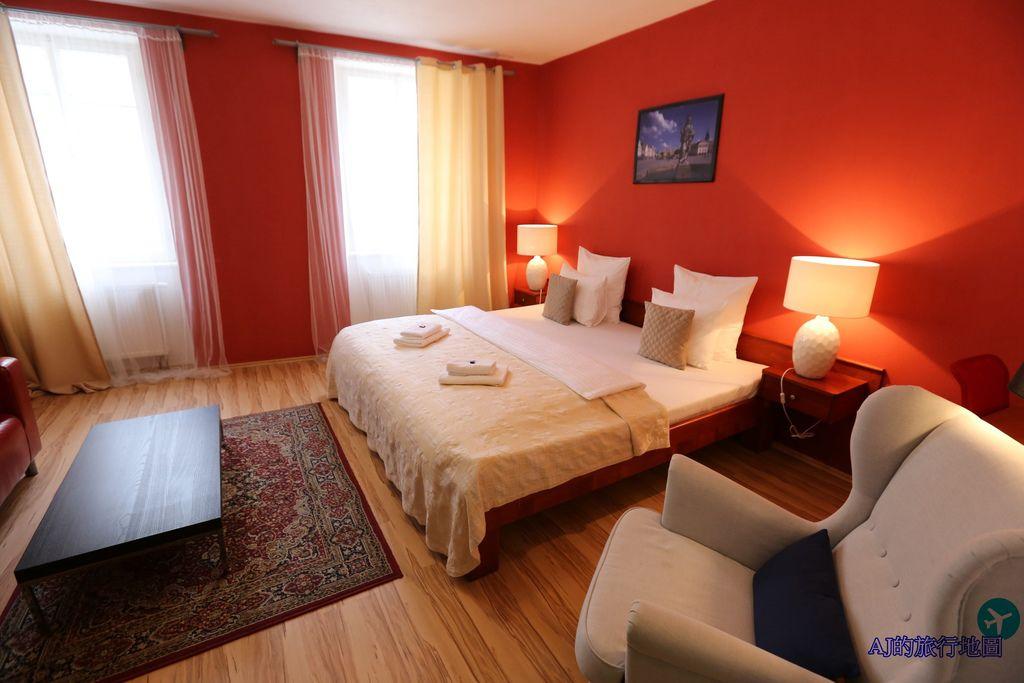 (捷克特奇Telc住宿推薦)泰爾奇酒店 Hotel Telc 單臥室公寓、早餐、交通分享 特奇超棒公寓式飯店