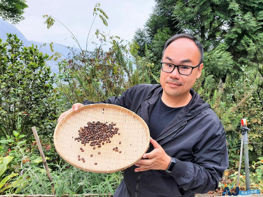 阿里山景點:宿瓦納咖啡茶屋 咖啡不插電DIY 做一杯自己的咖啡