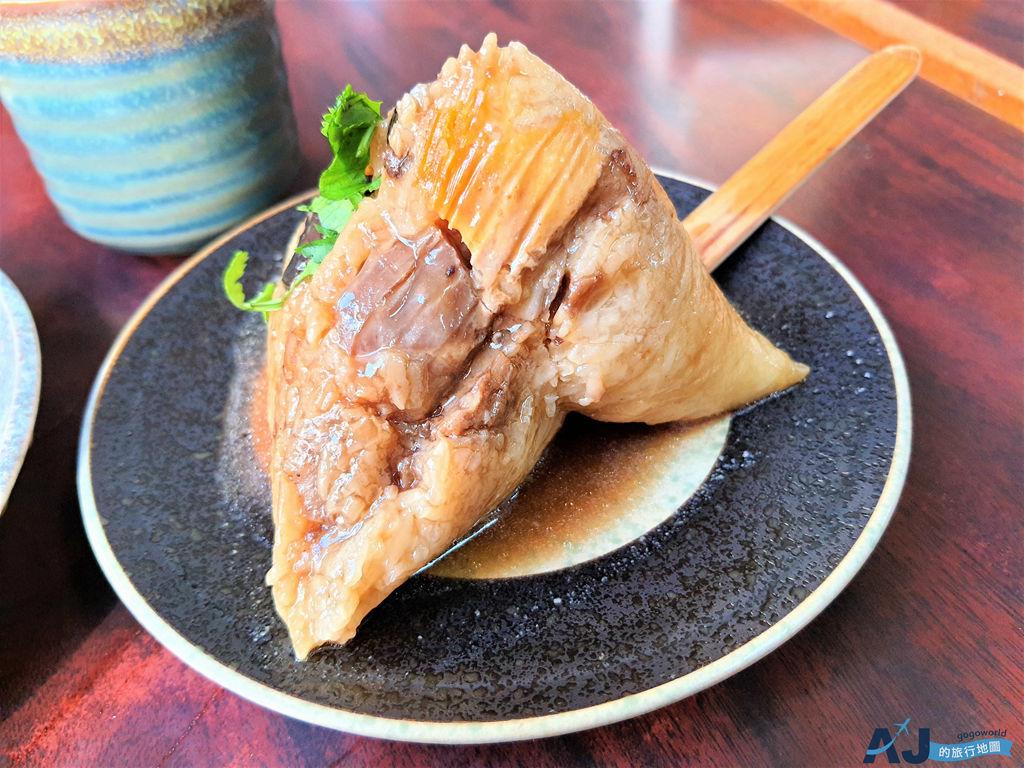 台南美食:再發號百年肉粽 八寶肉粽用料好豐富 營業時間分享