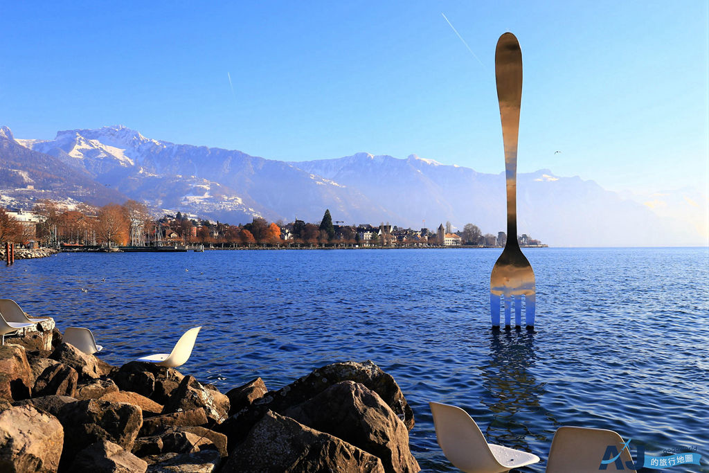 瑞士 沃韋Vevey:日內瓦湖畔的渡假小鎮 卓別林生前最後的居住地與雀巢公司總部