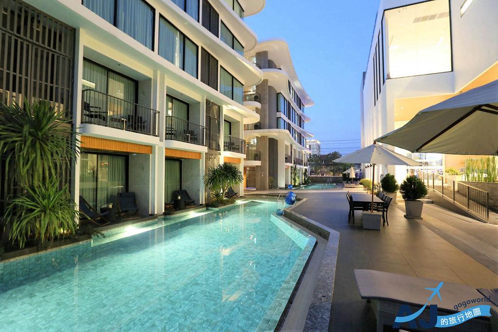 (清邁住宿推薦)清邁溫崔城市度假村 Wintree City Resort 雙人房、早餐分享