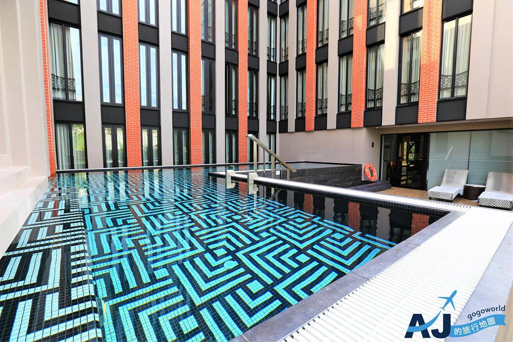 (清邁飯店推薦)德差精裝飯店 De Chai the Deco Hotel 雙臥室泳池房/早餐/交通分享 近清邁古城、塔佩門