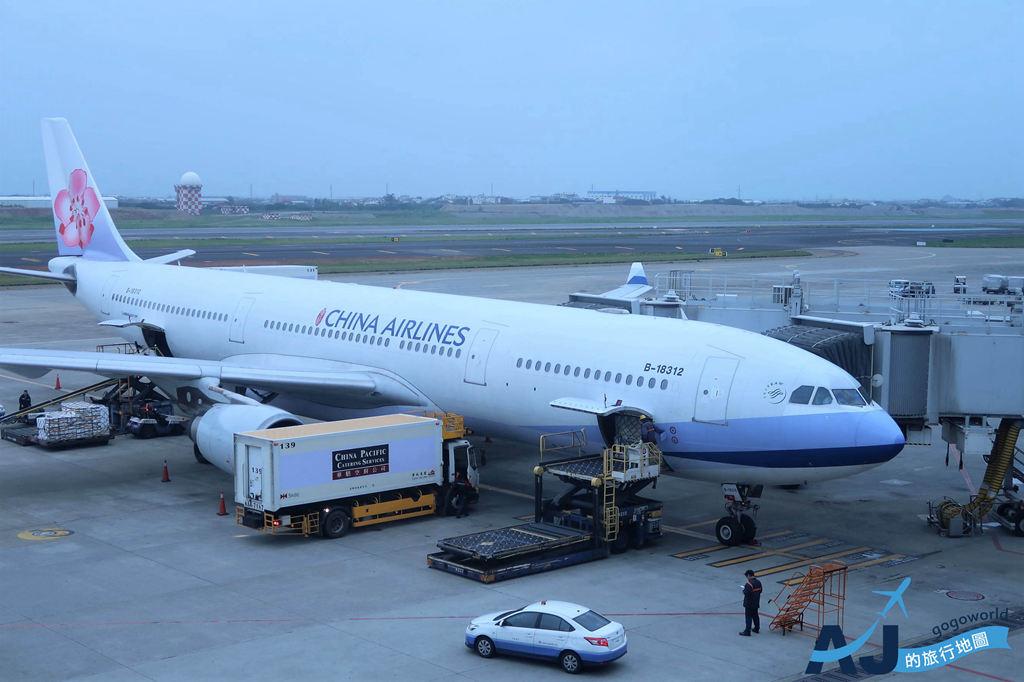 華航 CI503 桃園TPE > 上海PVG A330 經濟艙、飛機餐分享
