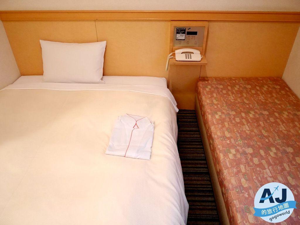 (松本住宿推薦)プレミアホテル Premier Hotel CABIN松本 雙人房、早餐分享 松本車站步行2分鐘