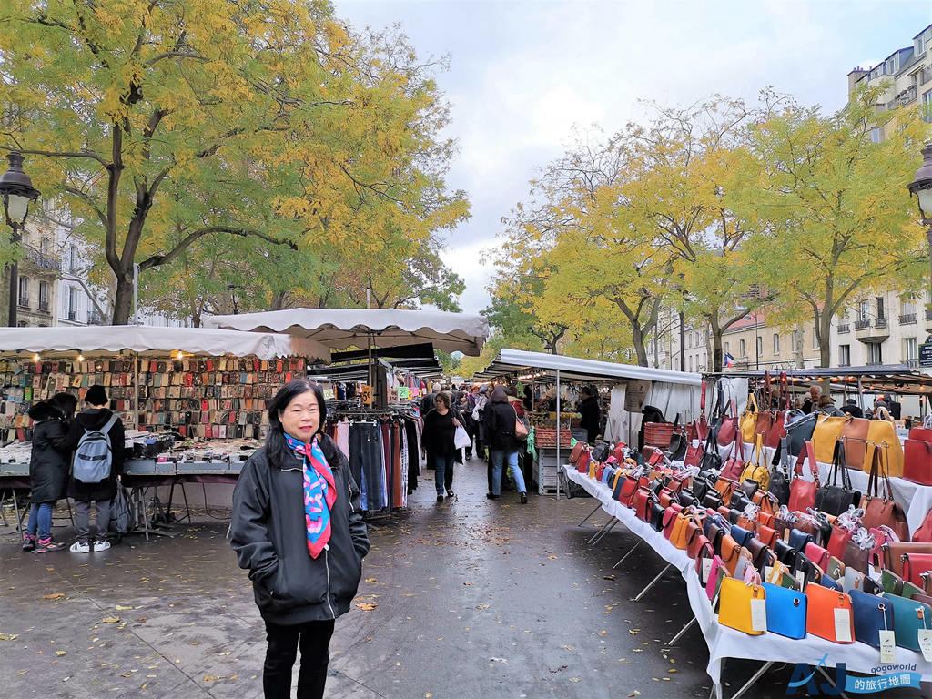 (巴黎逛菜市場)巴士底露天市集 Bastille Market 每周四、日上午登場