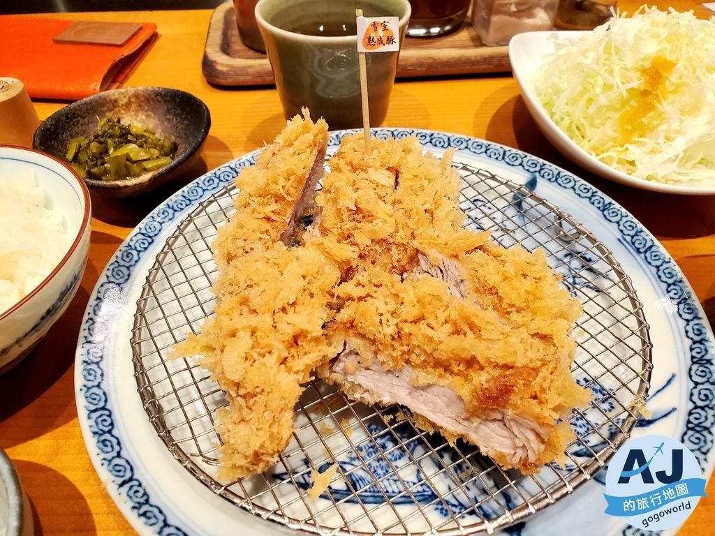 (東京六本木之森美食)豚組食堂 匯集日本各地名豬 酥脆不油膩的炸豬排 連屑屑都不想放過的美味