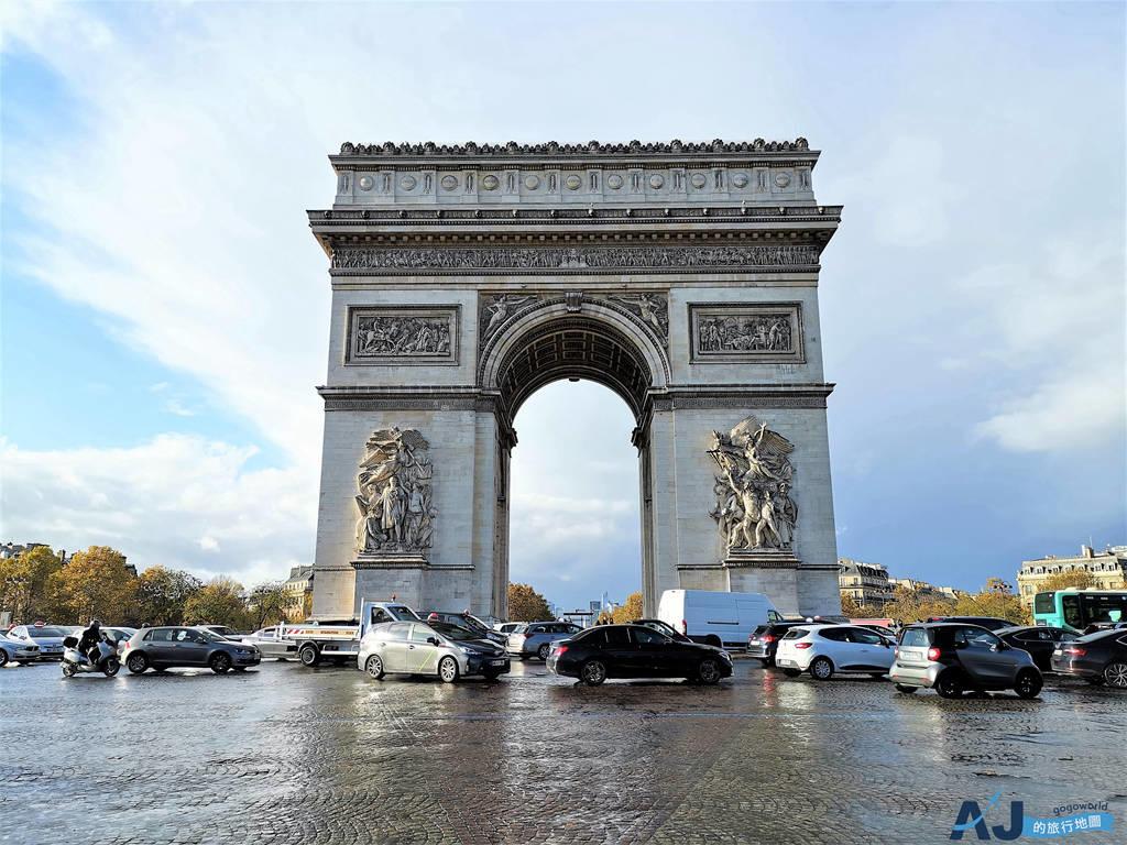 巴黎凱旋門:第一次來巴黎必訪景點 免排隊門票、交通、開放時間分享