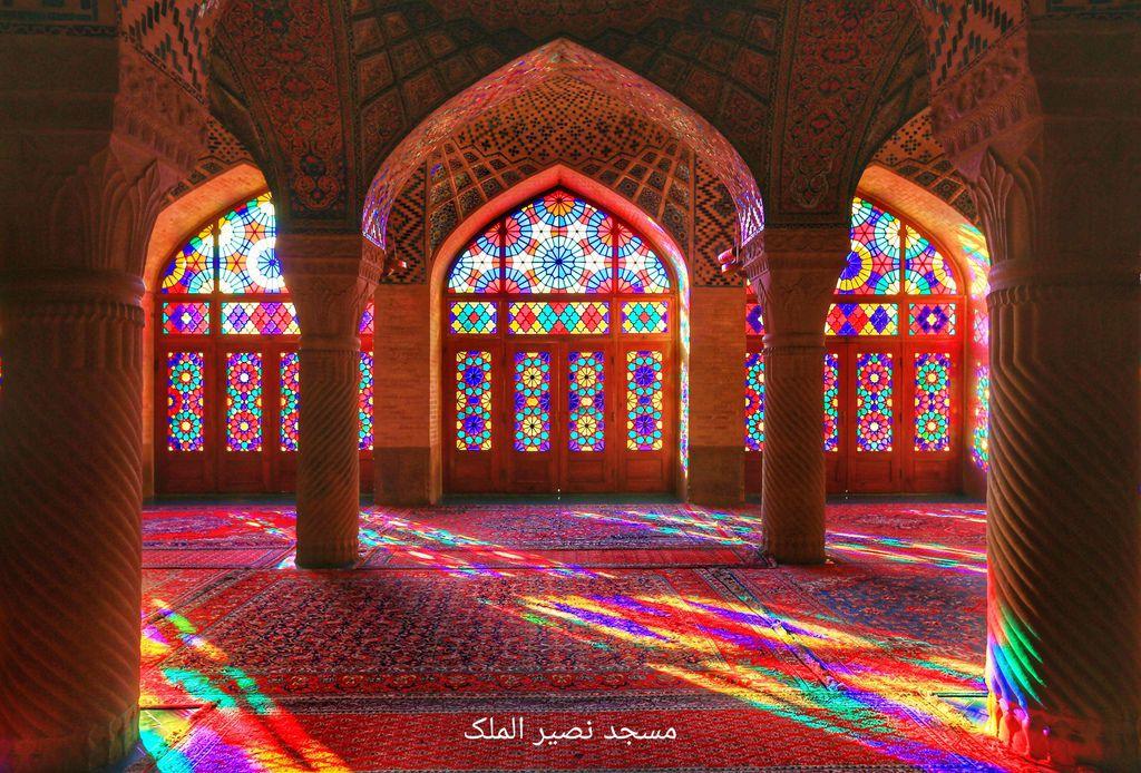 (設拉子景點)粉紅清真寺、莫克清真寺 Masjed e Nasir ol Molk 設拉子超人氣景點 開放時間分享