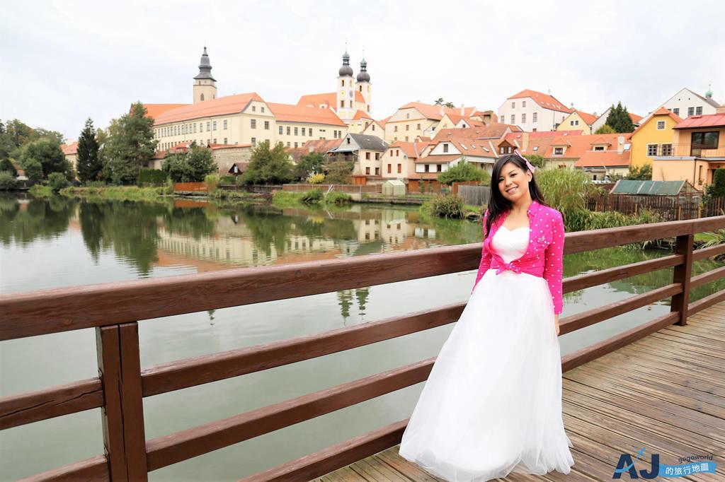 捷克特奇Telc小鎮:捷克最有代表性的彩色巴洛克小房子 交通、住宿推薦