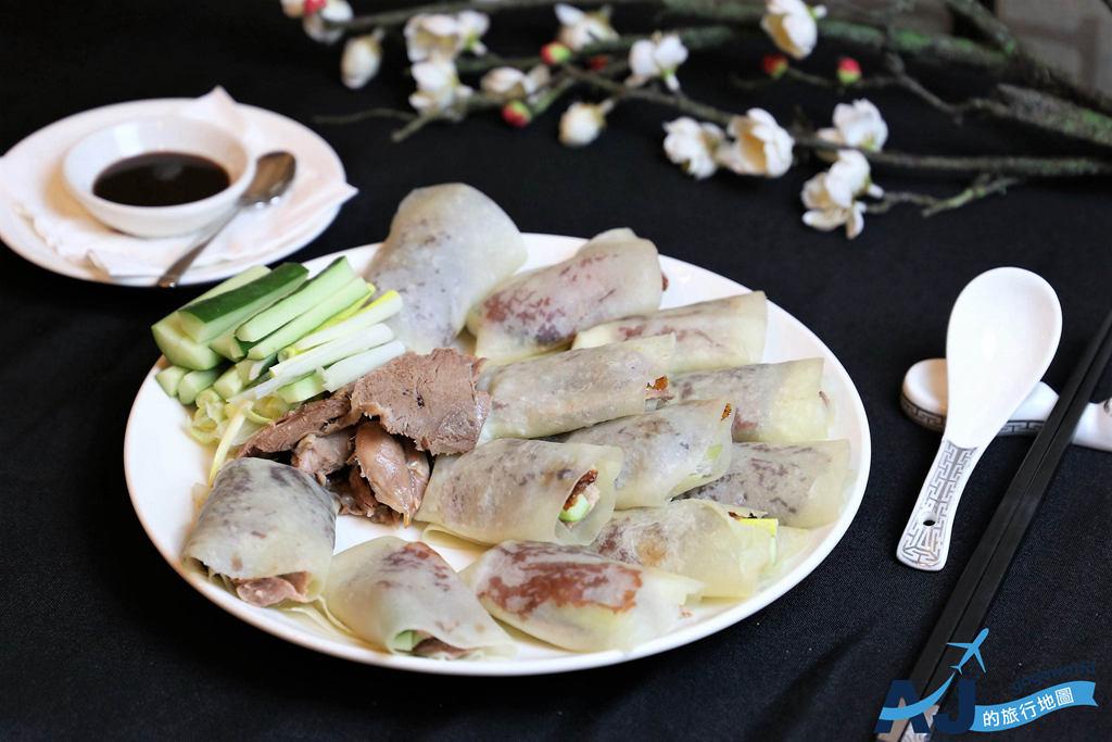 (台中烤鴨推薦)台中福華飯店 江南春 淘金鴨宴 桌邊片鴨秀 家庭朋友聚餐好選擇 營業時間/價格分享