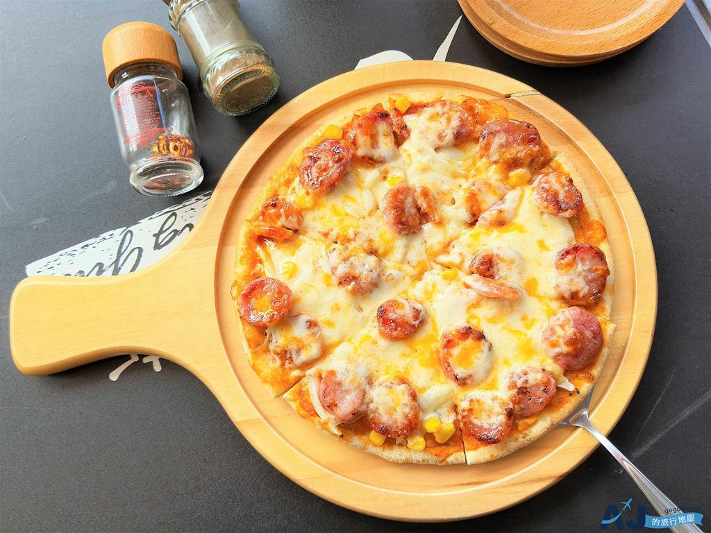 烏來美食:方格斯手工木耳Pizza 石板山豬肉、馬告香腸口味很特別 菜單與營業時間分享
