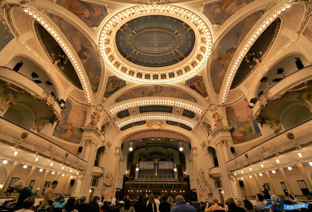 (布拉格景點)市民會館 史麥塔納廳 來布拉格聽一場音樂會吧