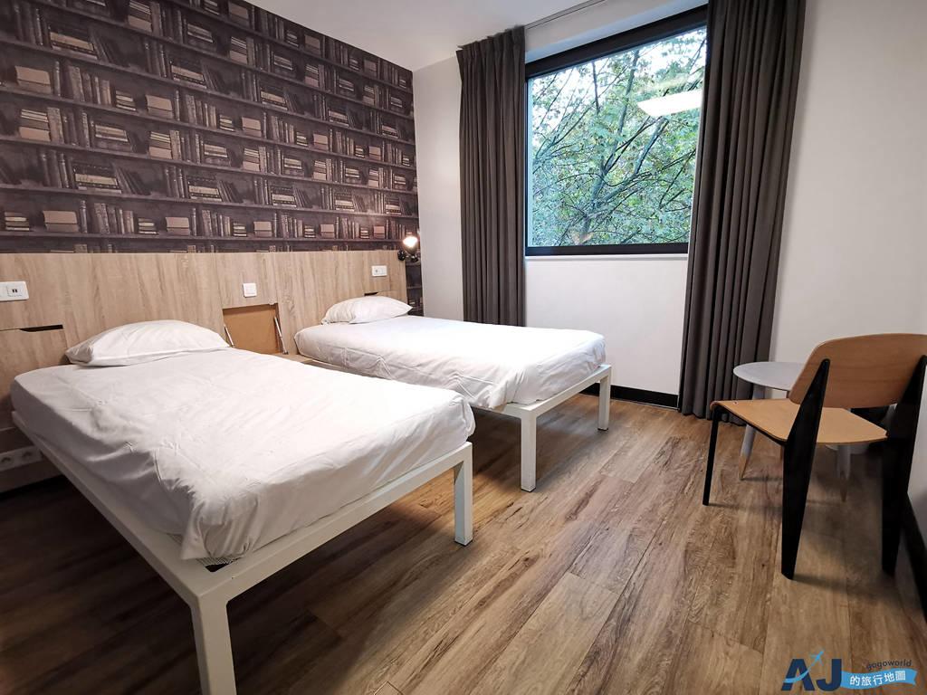 (巴黎便宜住宿推薦)巴黎發電機旅館 Generator Paris 獨立雙床房、早餐分享 也有青年旅館床位 近地鐵站