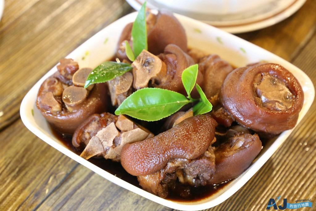 阿里山美食:生力農場 只接受預約的無菜單田園料理 以茶入菜 阿里山紅茶豬腳超好吃
