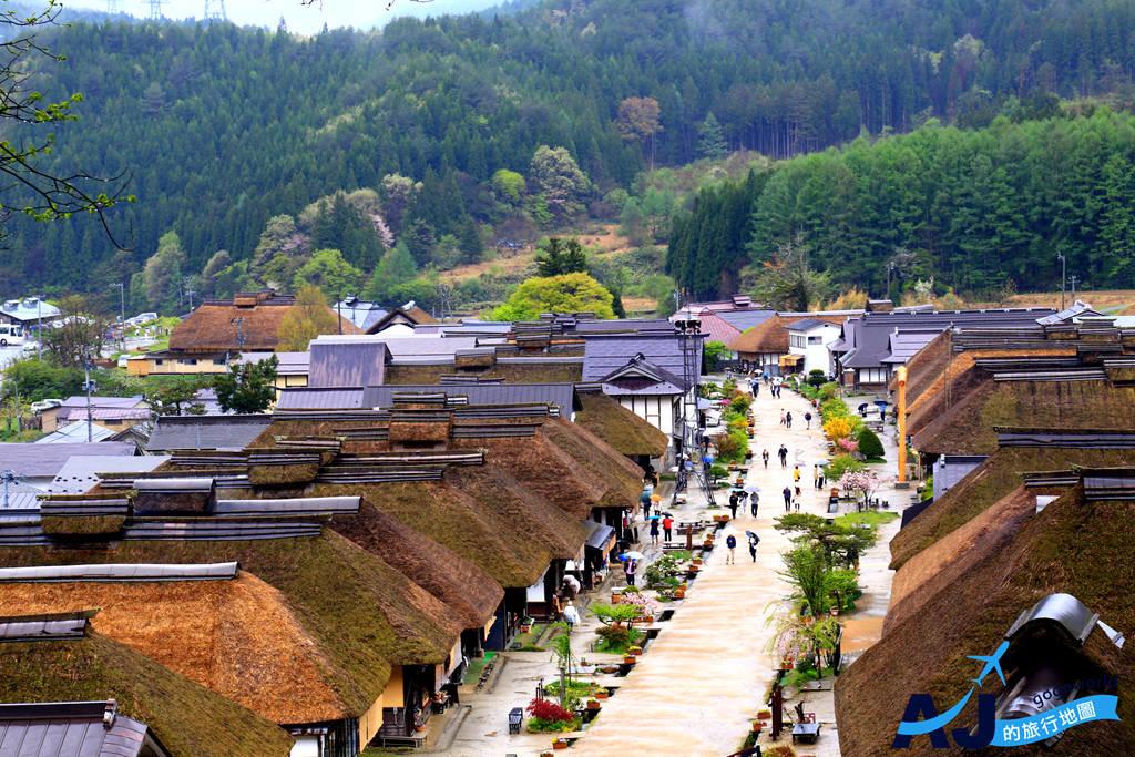 (福島景點)大內宿 日本三大茅葺屋聚落 福島縣必遊景點 讓我們重回江戶時代 含大內宿交通整理