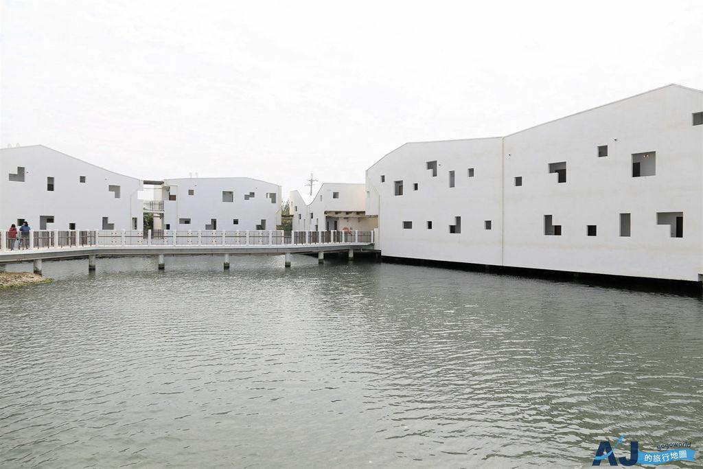台南景點:台江國家公園遊客暨行政中心 漂浮在水上的白色房子 鑽石級綠建築 開放時間分享