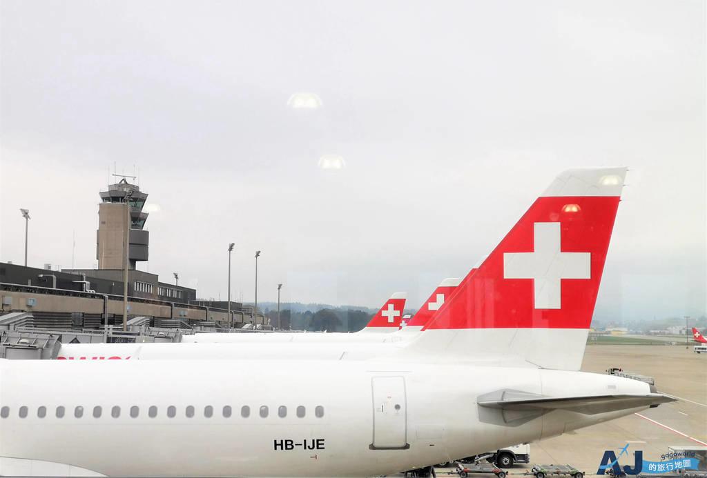 瑞士航空 LX638 蘇黎世ZRH > 巴黎戴高樂CDG A220經濟艙、飛機餐分享 歐洲內陸航線