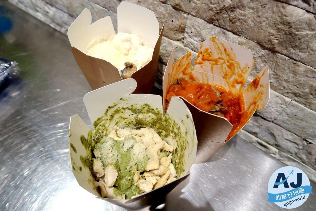 (威尼斯美食)Dal Moro's Fresh Pasta to Go 帶著走義大利麵 想吃什麼自己搭配 用料實在且平價