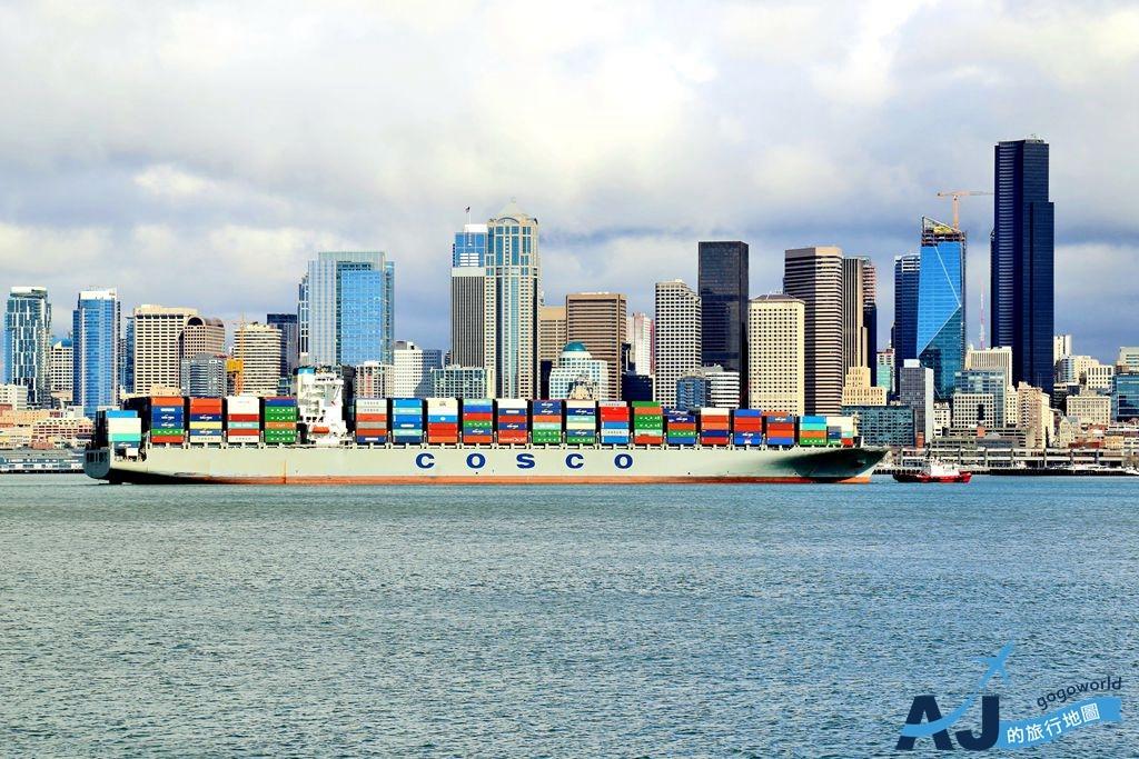 (西雅圖景點)Argosy Cruises 蔚藍港灣遊船漫遊西雅圖 從海上眺望西雅圖市區 留學生也推薦的西雅圖經典行程