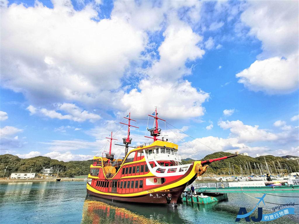 九十九島遊覽船:搭海盜船暢遊日本百景之一 長崎必遊景點 船班時間分享